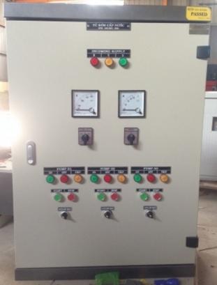 Quy trình sản xuất tủ điều khiển máy bơm ba pha