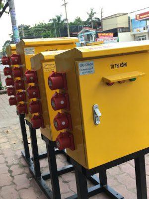 Tủ điện thi công có 4 loại mang đến nhiều tính năng tiện lợi