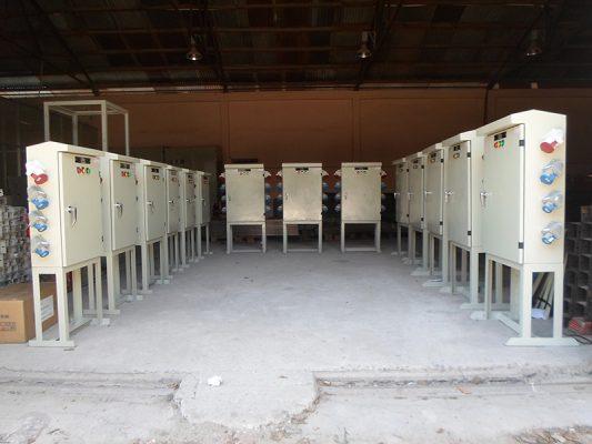 Tủ điện thi công có thiết kế gọn gàng