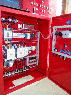 Tủ bơm nước chữa cháy được sử dụng phổ biến